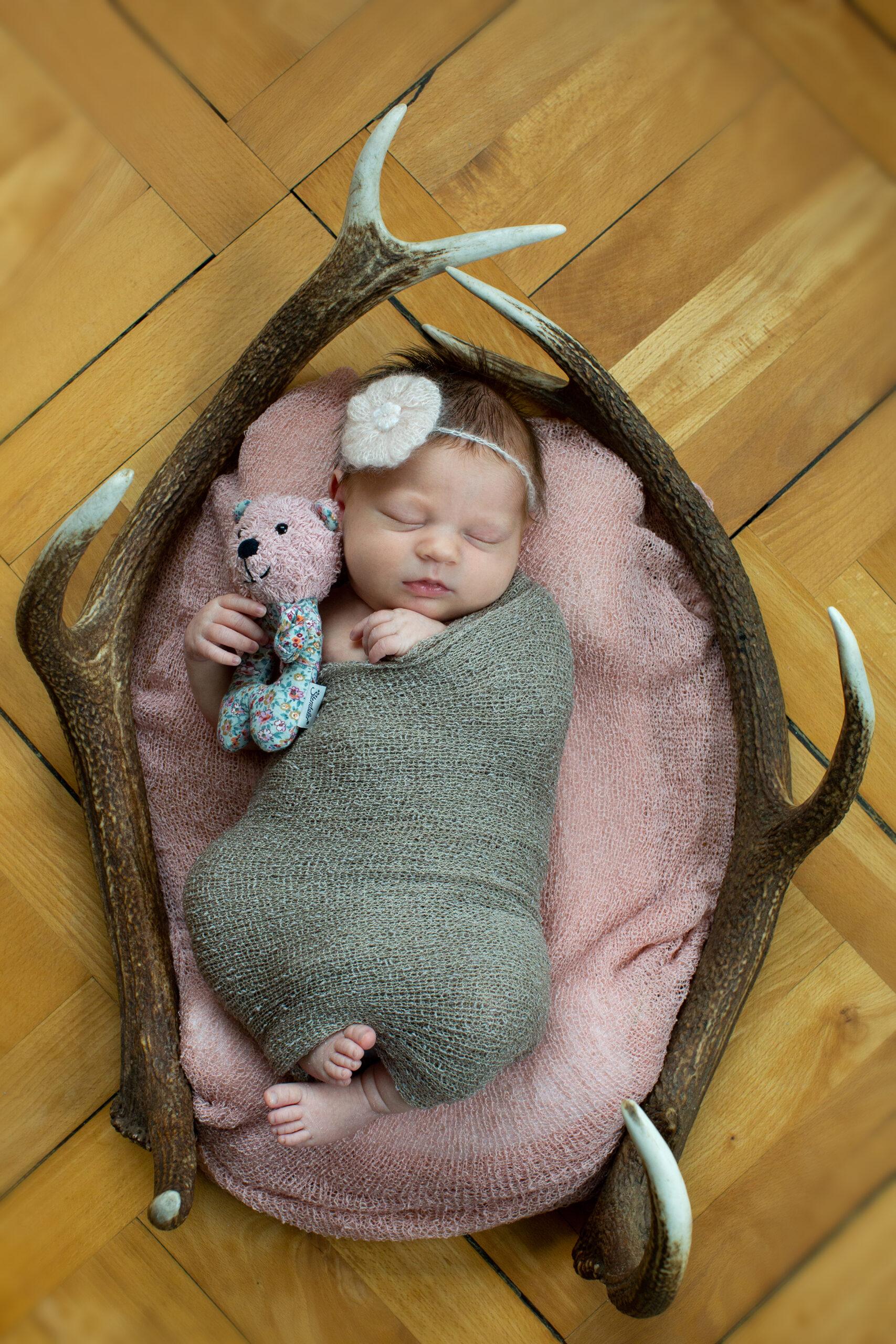 Newbornshooting Madlein